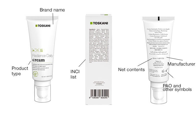 Do you know how to read a cosmetic label? | Toskani cosmetics